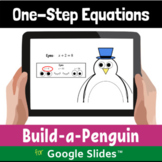 One Step Equations Digital Distance Learning Activity