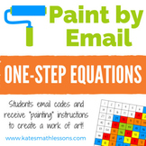 One-Step Equations Fun Activity