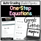 One- Step Equations (Google Form/ Quizzes)