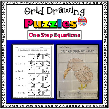 One Step Equations Worksheet Teaching Resources | Teachers Pay Teachers
