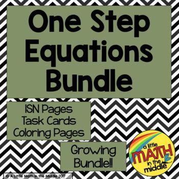 One Step Equations Bundle