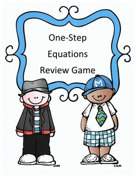 One Step Equations Math Review Game