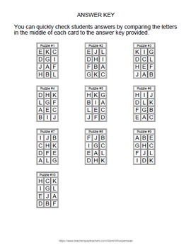 One Step Equations (Mixed Operations) - Puzzles