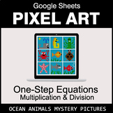 One-Step Equations - Multiplication & Division - Google Sh