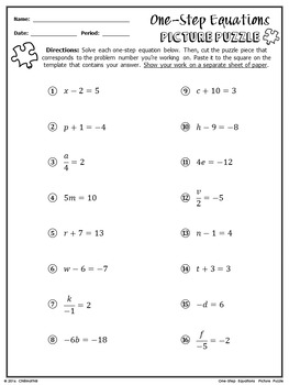 worksheet. Solving 1 Step Equations Worksheet. Grass Fedjp ...