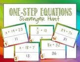 One-Step Equations Scavenger Hunt