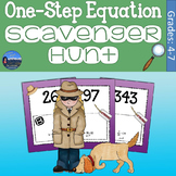 One Step Equations Scavenger Hunt