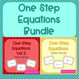 One Step Equations Task Cards Bundle