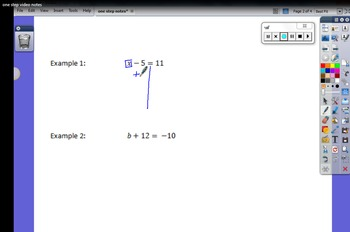 One Step Equations Video Lesson Bundle
