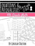 One Step Equations and Inequalities Escape Room/ Break Out