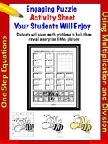 One-Step Equations using multiplication and division  (18