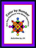 One Step Equations with Mixed Operations Color by Number (