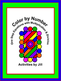 One Step Equations with Multiplication & Division Color by Number (Digital/PDF)