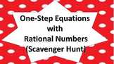 One-Step Equations with Rational Coefficients