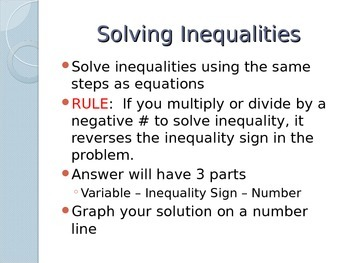 One-Step Inequalities