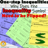 Solving Inequalities Activities - One Step Inequality Notes
