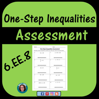 One-Step Inequalities Assessment
