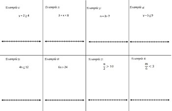 One-Step Inequalities Foldable