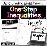 One- Step Inequalities (Google Forms/ Quiz)