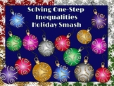 One Step Inequalities: Holiday Smash PowerPoint Game