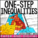 One-Step Inequalities Lesson Bundle