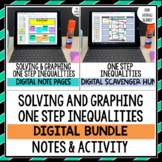 One Step Inequalities Note and Activity Bundle Google Driv