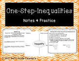 One-Step-Inequalities Notes and Practice Resources