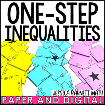 One-Step Inequalities Puzzle