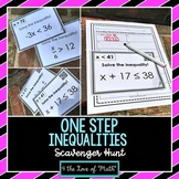 One Step Inequalities: Scavenger Hunt