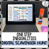 One Step Inequalities Scavenger Hunt for Google Drive™