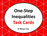 One Step Inequalities Task Cards