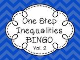 One Step Inequality BINGO Volume 2