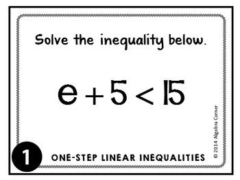 One-Step Inequality