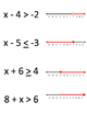 One Step Mixed Inequalities - Odd Man Out