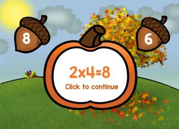 One Step Mult. & Div. Thanksgiving Word Problem Adventure {FREE Sample in Prvw}