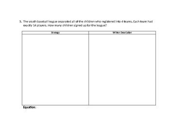 One-Step Multiplication & Division Word Problems