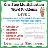 Multiplication Word Problems and Products of 50 or Less
