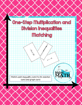 One-Step Multiplication and Division Inequalities Matching