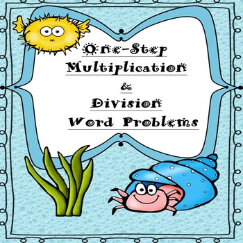 3rd & 4th Grade One-Step Multiplication & Division Word Problems (175 Problems)