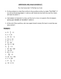 One Step & Two Step Equations Save the Teacher Mystery Game