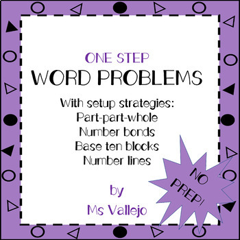 One-Step Word Problems