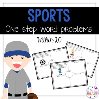 One Step Word Problems Sports Edition!