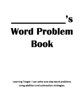 One-Step Word Problems Within 100 Without Regrouping