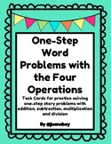 One-Step Word Problems with the Four Operations