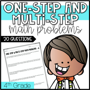 One-Step and Multi-Step 4th Grade Math Review