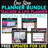 One Stop Planner BUNDLE | Teacher & Life Planner | Printab