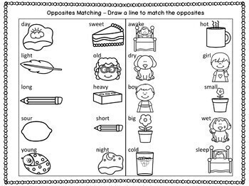 Opposites and S-Blends Speech Therapy Card Game