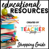One Stop Teacher Shop Shopping Guide