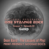 One Strange Rock: 1. Gasp - Video Question Set