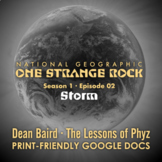 One Strange Rock: 2. Storm - Video Question Set